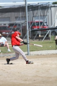 At bat at one of the two homerun derbies he won last summer.