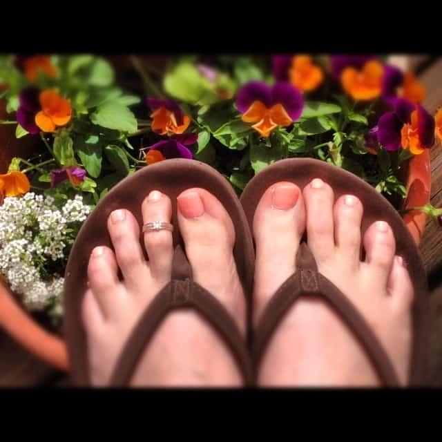 About my toe ring... at KarenEhman.com