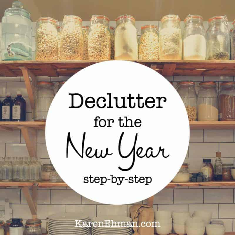 De-Cluttering for the New Year