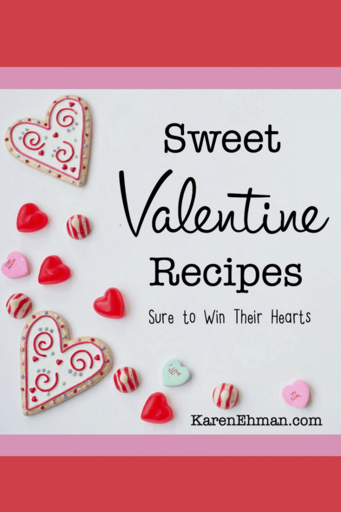 Sweet Valentines Day recipes sure to warm the hearts of your loved ones.