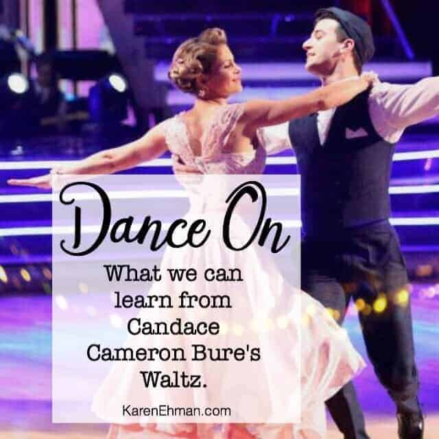 What Candace Cameron Bure's Waltz Teaches Us About God