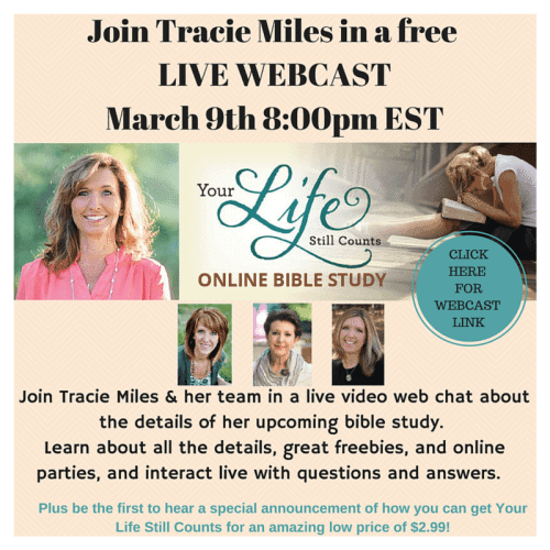 Your Life Still Counts! {with Tracie Miles}