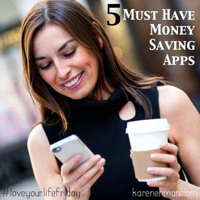 5 Must Have Money Saving Apps