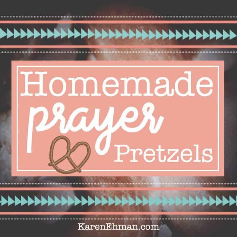 Homemade Prayer Pretzels