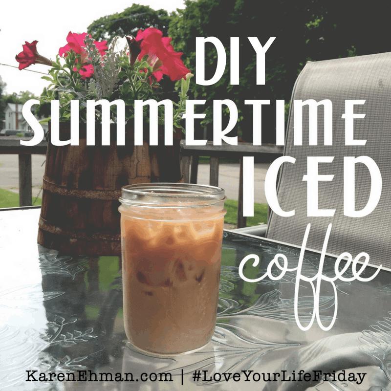 DIY Summertime Iced Coffee!