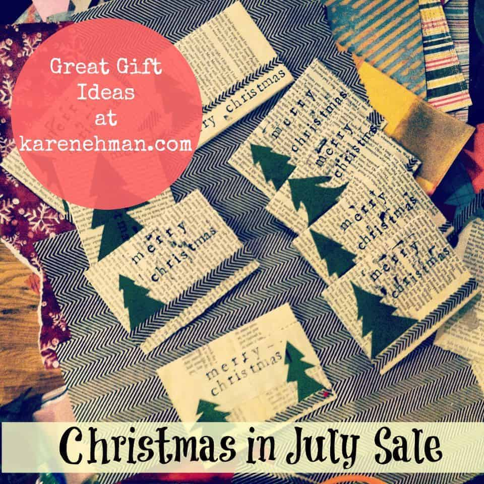 Christmas in July {5 Fab Gifts to Buy Now}