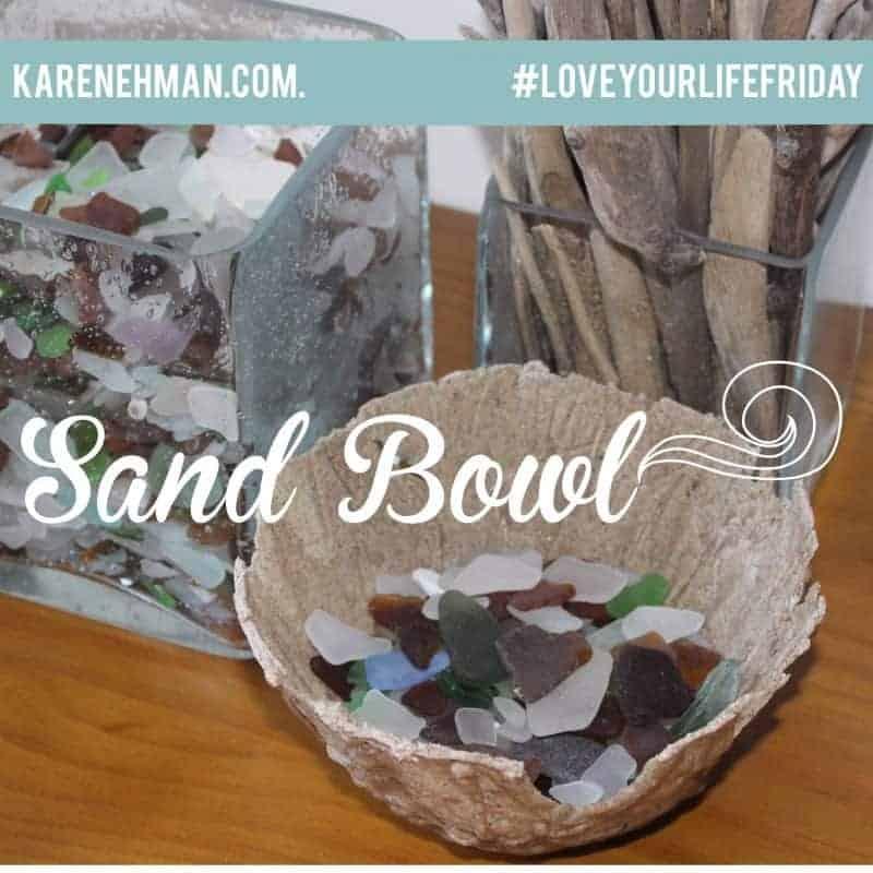DIY End-of-Summer Sand Bowls