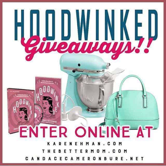 LAST DAY to Enter HOODWINKED Giveaways {including a Kitchen Aid Mixer!}