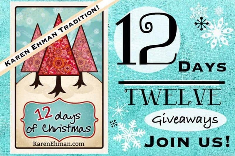 Announcing 12 Days of Christmas Giveaways!