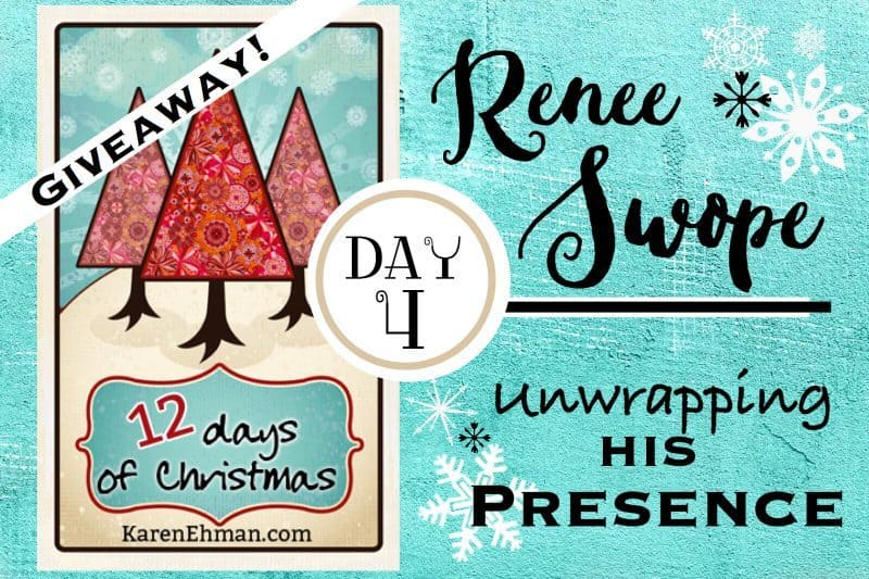 4th Day of Christmas Giveaways with Renee Swope
