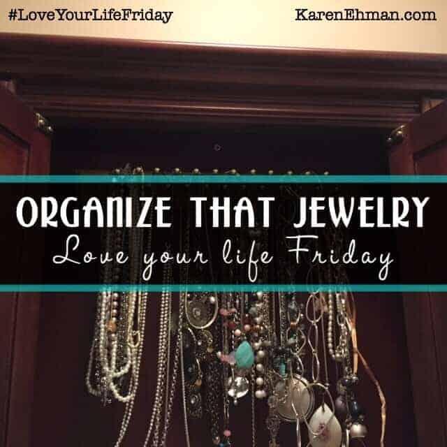DIY – Organize that Jewelry!