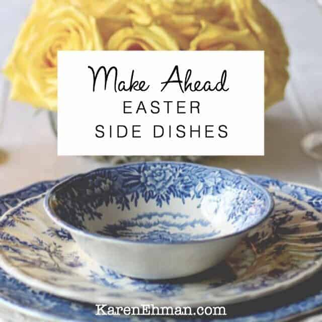 Make-Ahead Easter Side Dishes