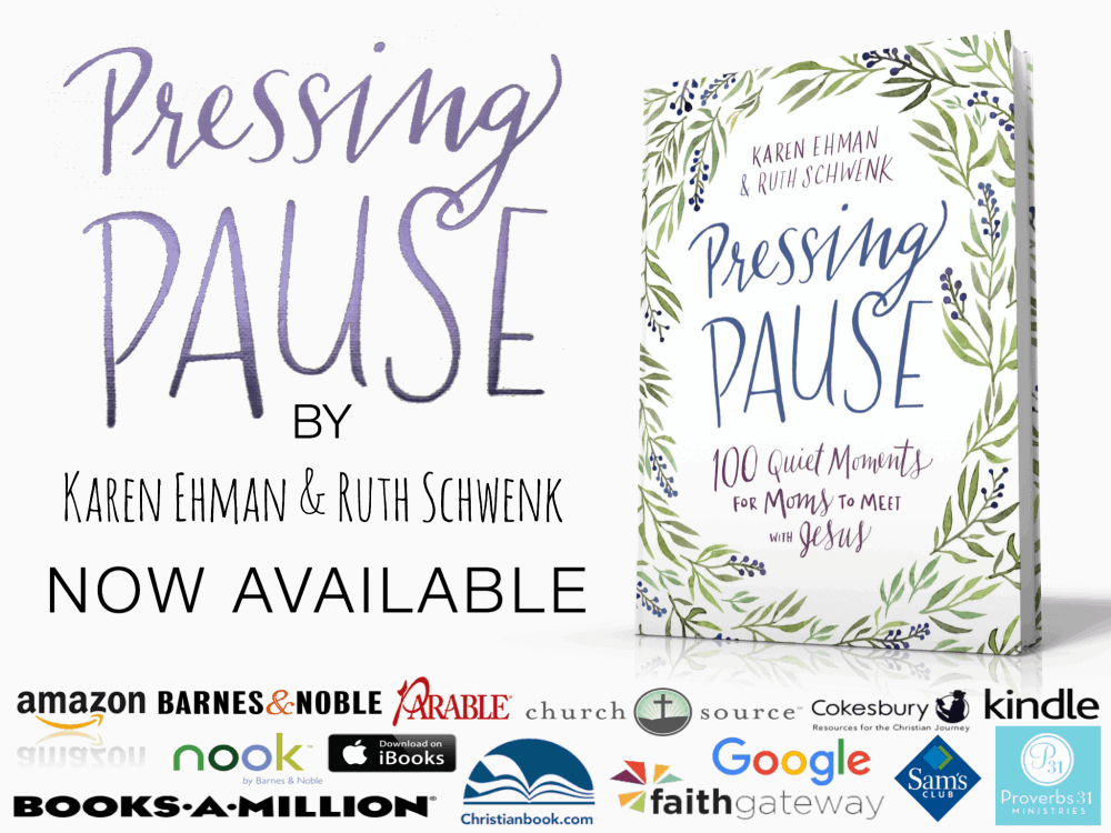 Moms! Pressing Pause Devotion Releases Today {Giving Away 5 Copies!}