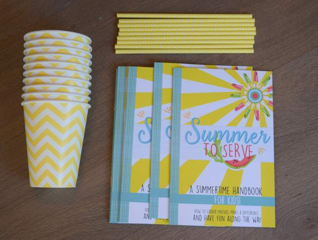 Summer to Serve GIVEAWAY with Courtney DeFeo