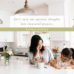 Calming my Back-to-School Mama's Heart & a GIVEAWAY of Pressing Pause devoiton from Karen Ehman