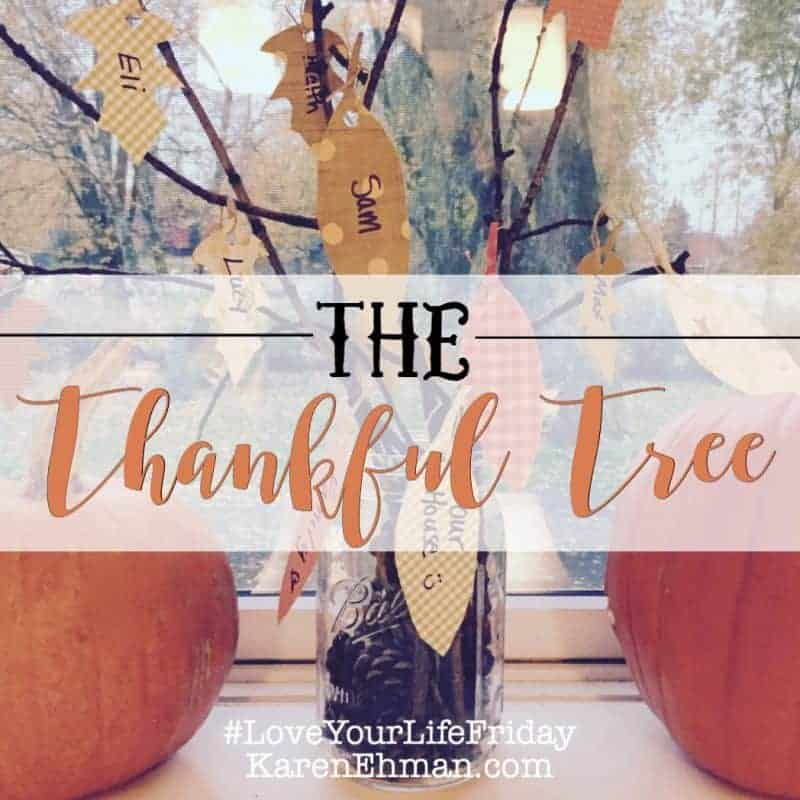 The Thankful Tree with Lauren Henderson for #LoveYourLifeFriday