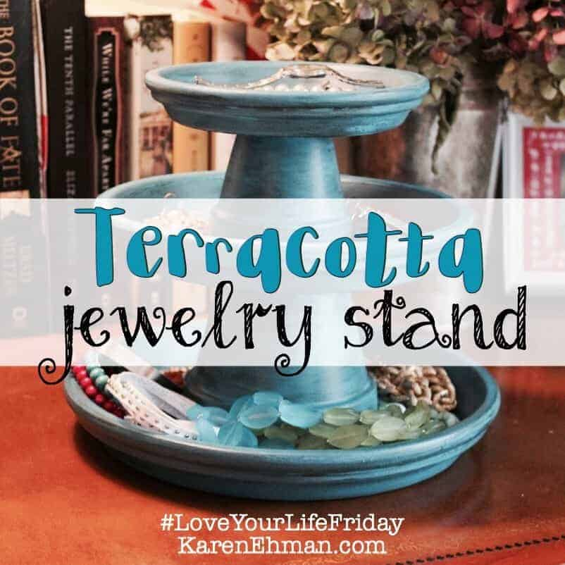 DIY Jewelry Stand with Chessa Moore for #LoveYourLifeFriday