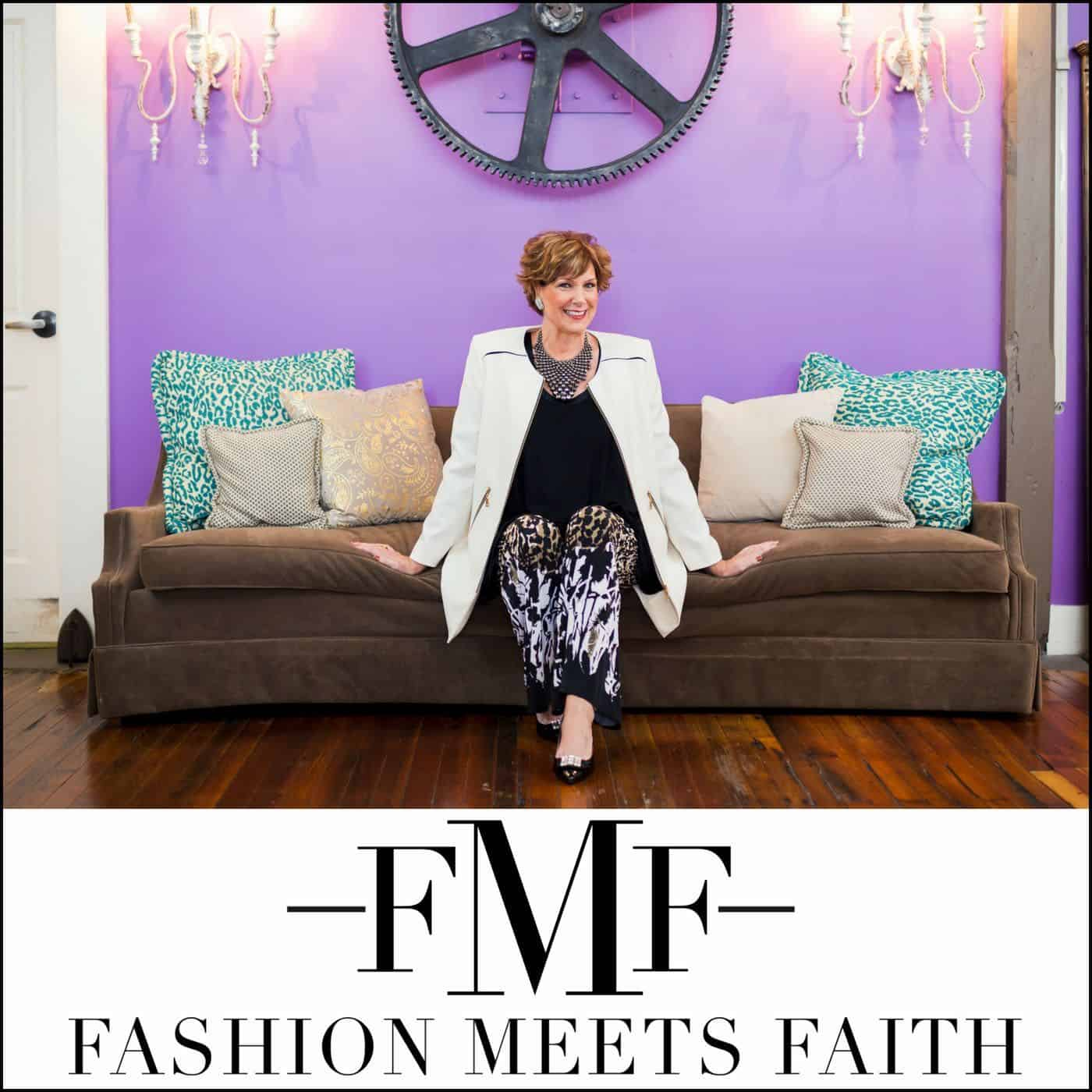 Fashion Meets Faith podcast with Shari Braendel.