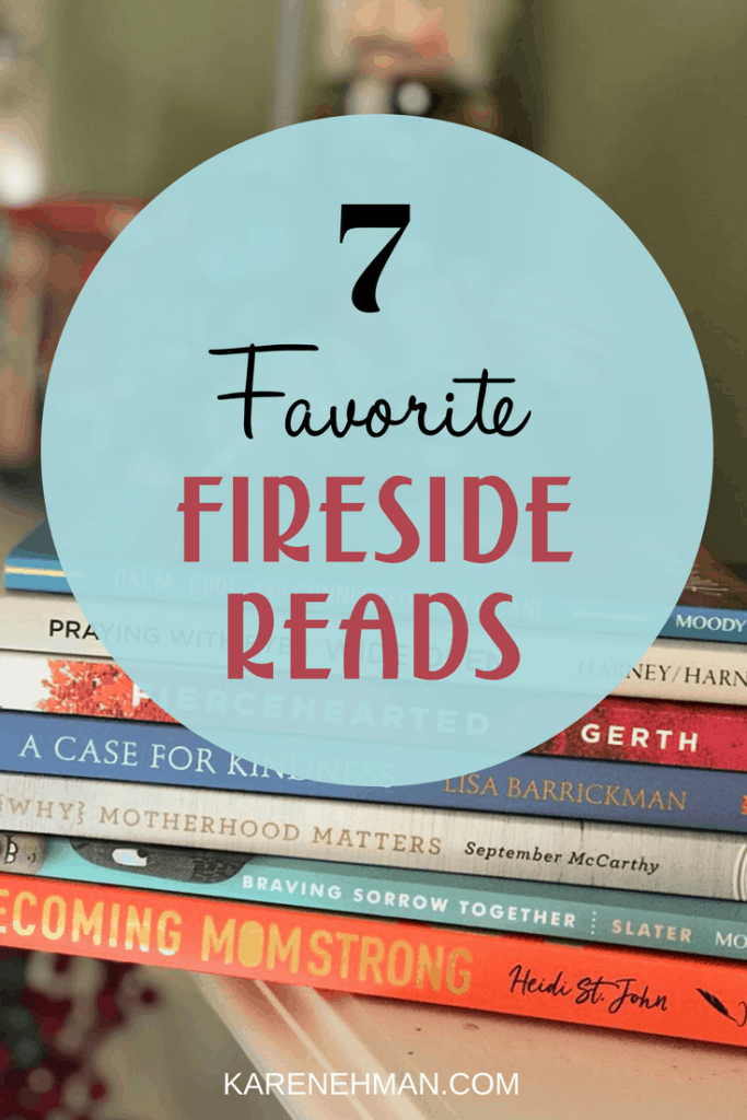 Here are 7 of my favorite fireside reads for December at karenehman.com.