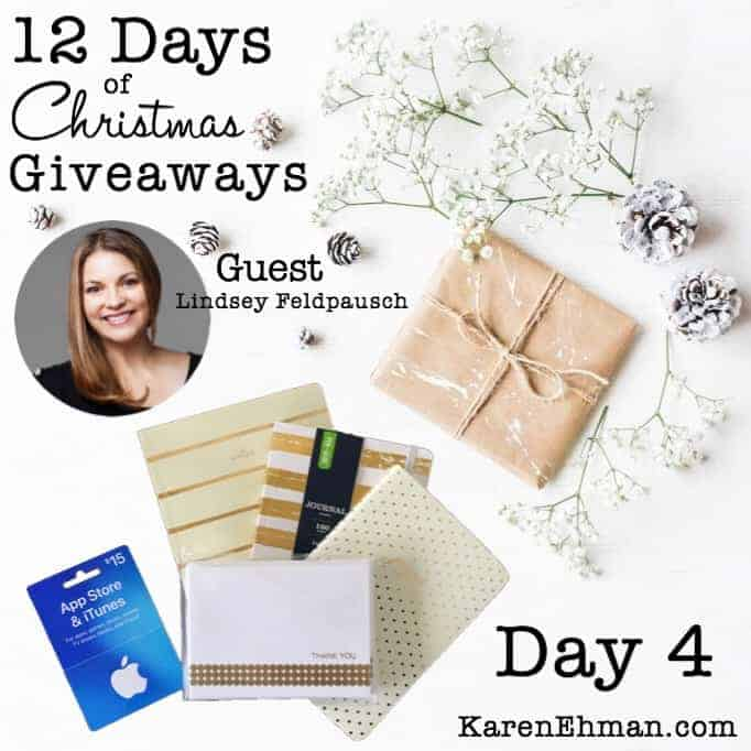 12 Days of Christmas Giveaways (2017) – Day 4