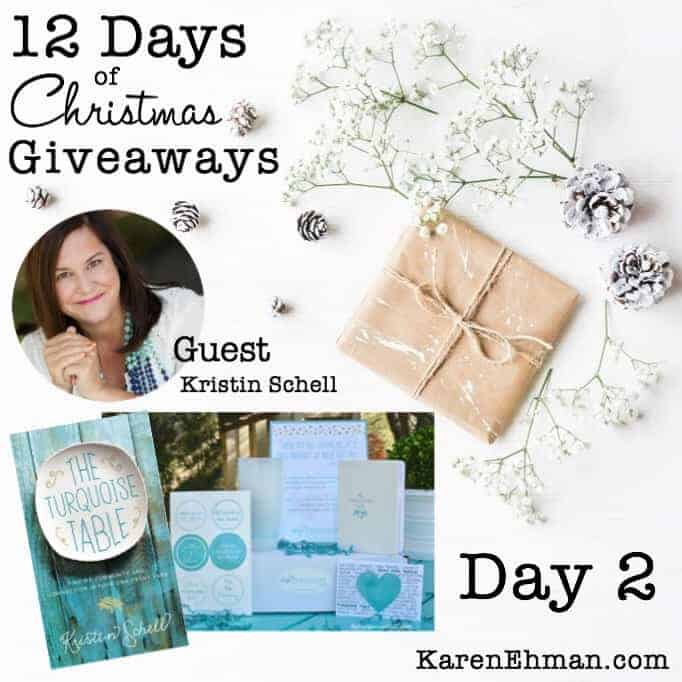 12 Days of Christmas Giveaways (2017) – Day 2
