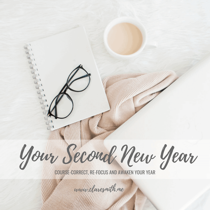 Your Second New Year {A FREE Challenge}