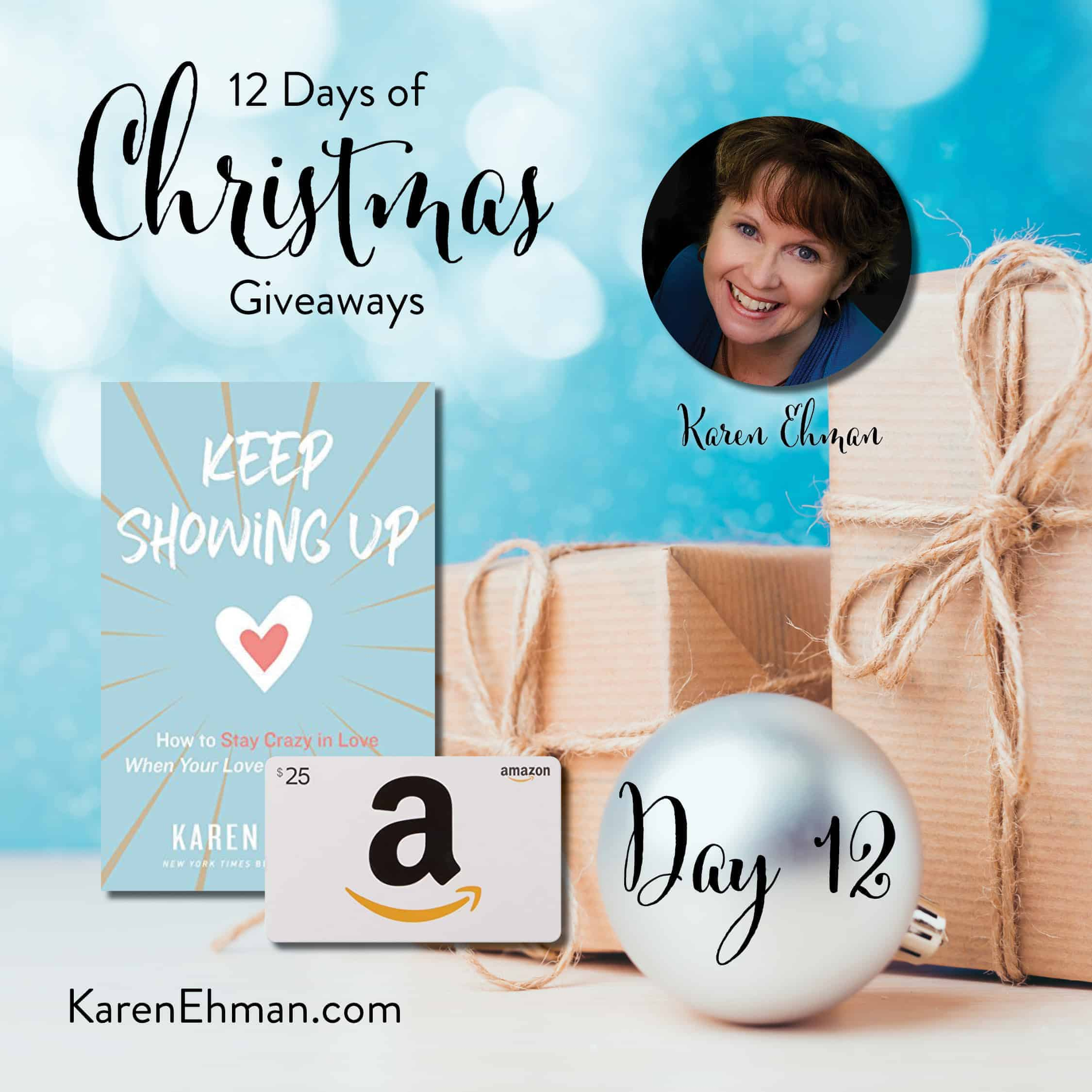 Day 12 of 12 Days of Christmas Giveaways (with Karen Ehman)