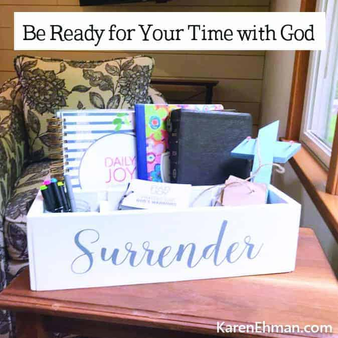 How to Be Ready for Your Time With God (AND a fab coupon code!!!)