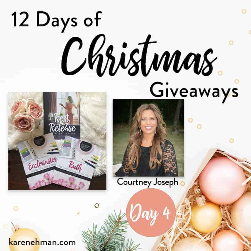 Day 4 of 12 Days of Christmas Giveaways (with Courtney Joseph)