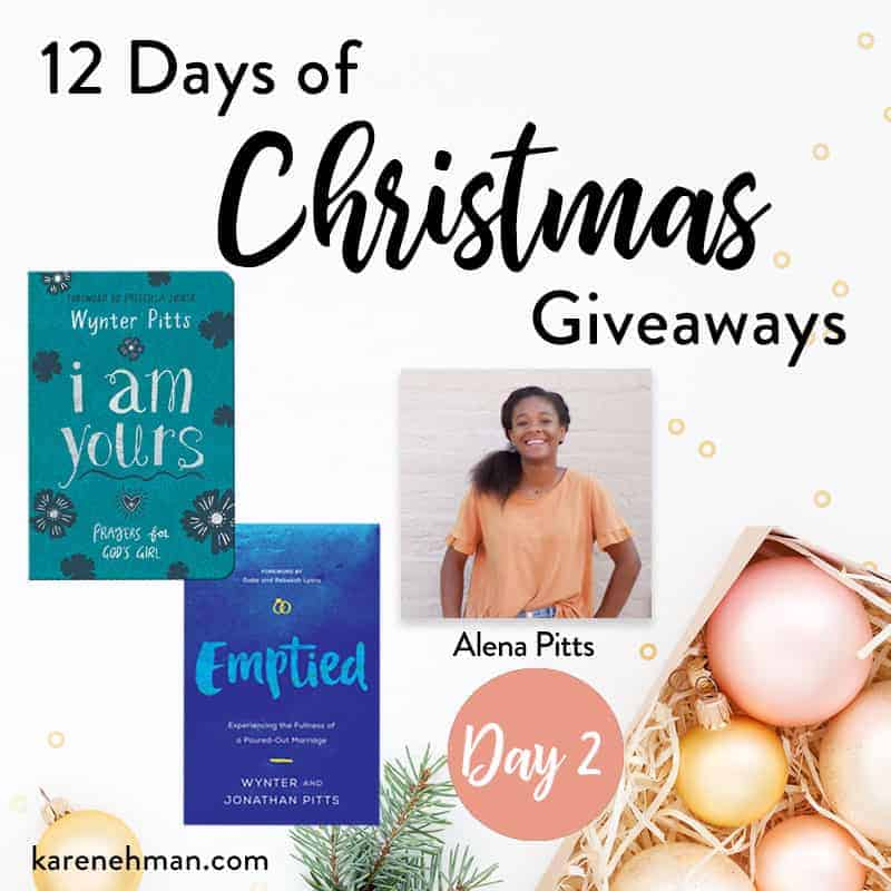 Day 2 of 12 Days of Christmas Giveaways (with Alena Pitts)