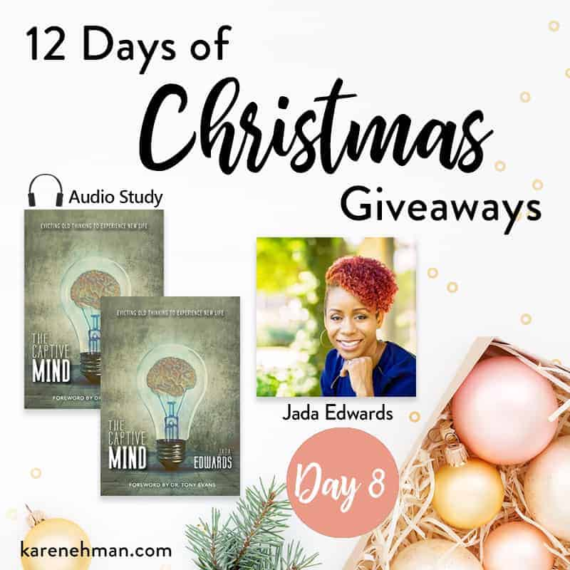 Day 8 of 12 Days of Christmas Giveaways (with Jada Edwards)