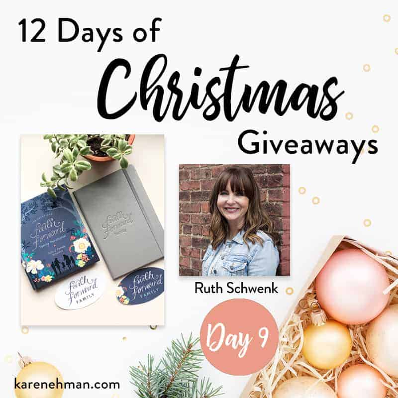 Day 9 of 12 Days of Christmas Giveaways (with Ruth Schwenk)