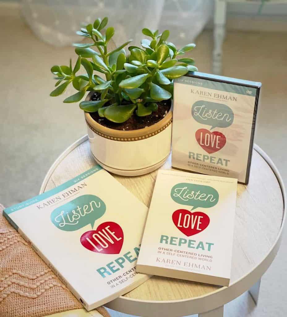 Listen Love Repeat giveaway at karenehman.com