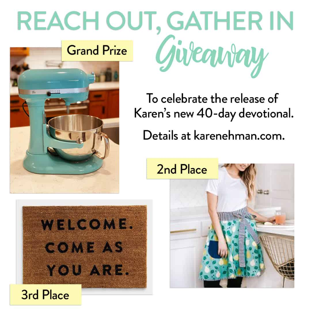 Reach Out, Gather In Giveaway!
