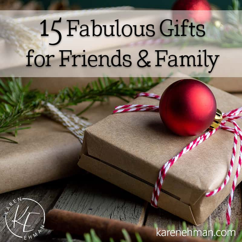 15 Fabulous Gifts for Friends & Family!