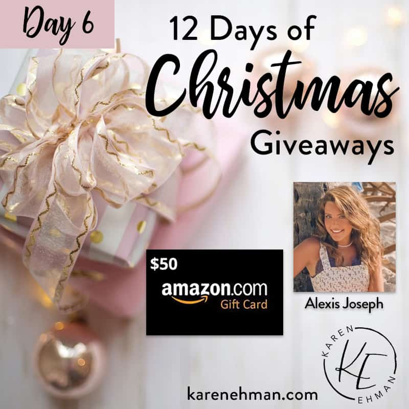 Day 6 of 12 Days of Christmas! (with Alexis Joseph)