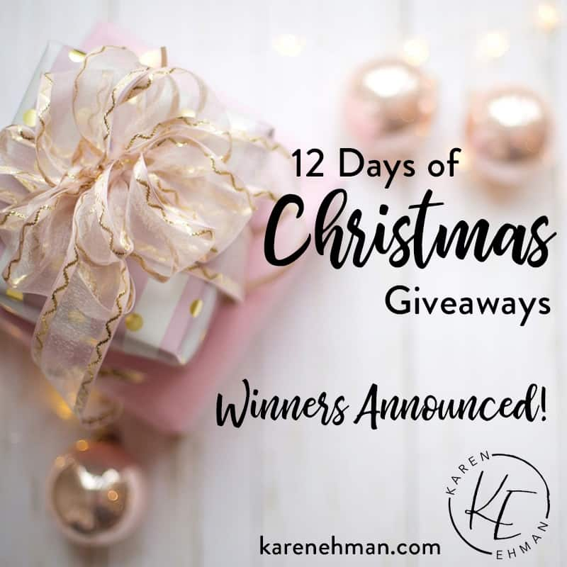 12 Days of Christmas Winners Announced!
