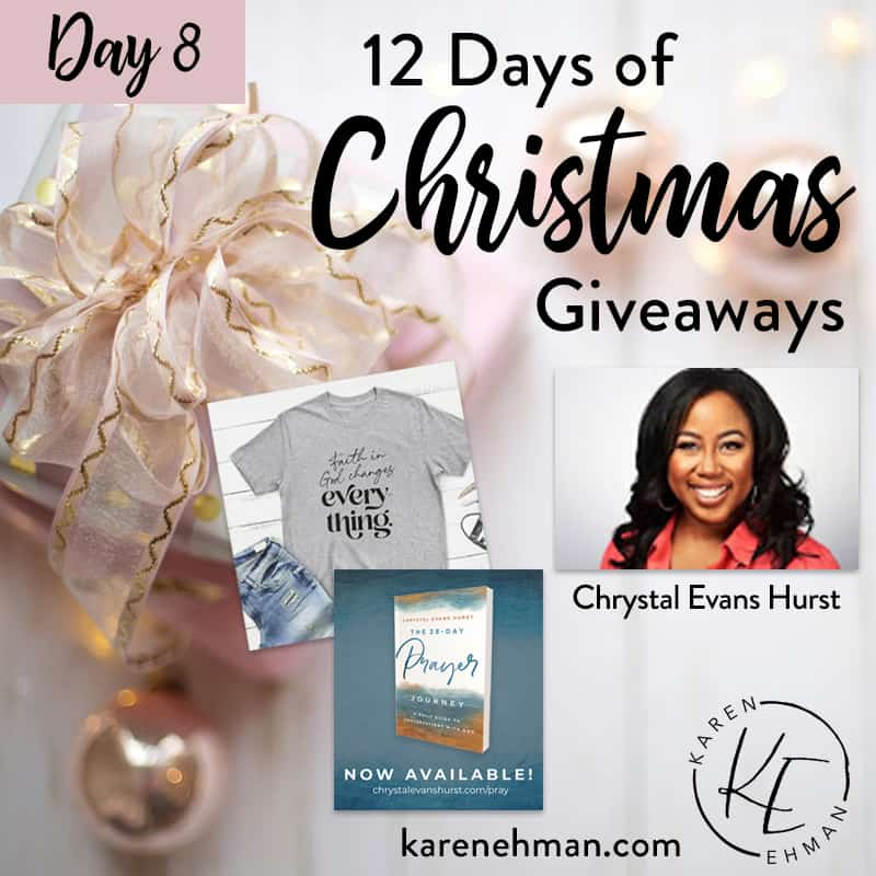 Day 8 of 12 Days of Christmas! (with Chrystal Evans Hurst)