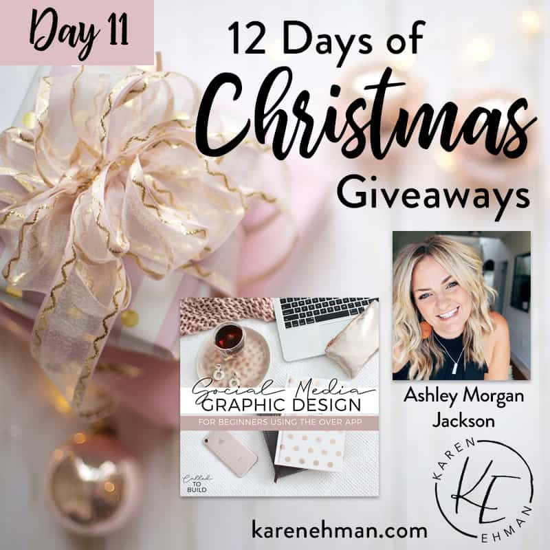 Day 11 of 12 Days of Christmas! (with Ashley Morgan Jackson)