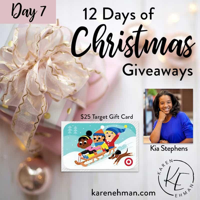 Day 7 of 12 Days of Christmas! (with Kia Stephens)