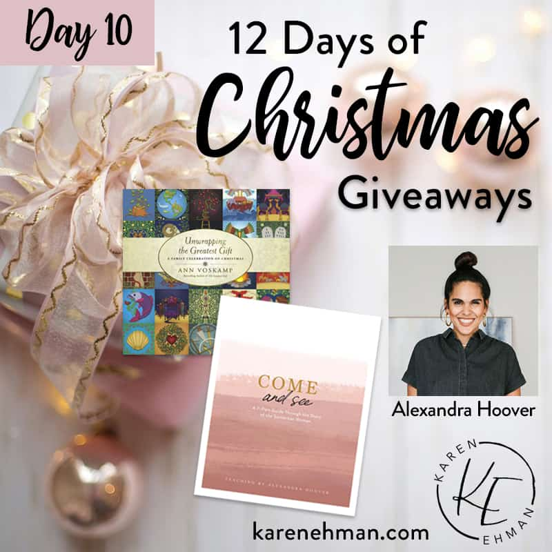 Day 10 of 12 Days of Christmas! (with Alexandra Hoover)