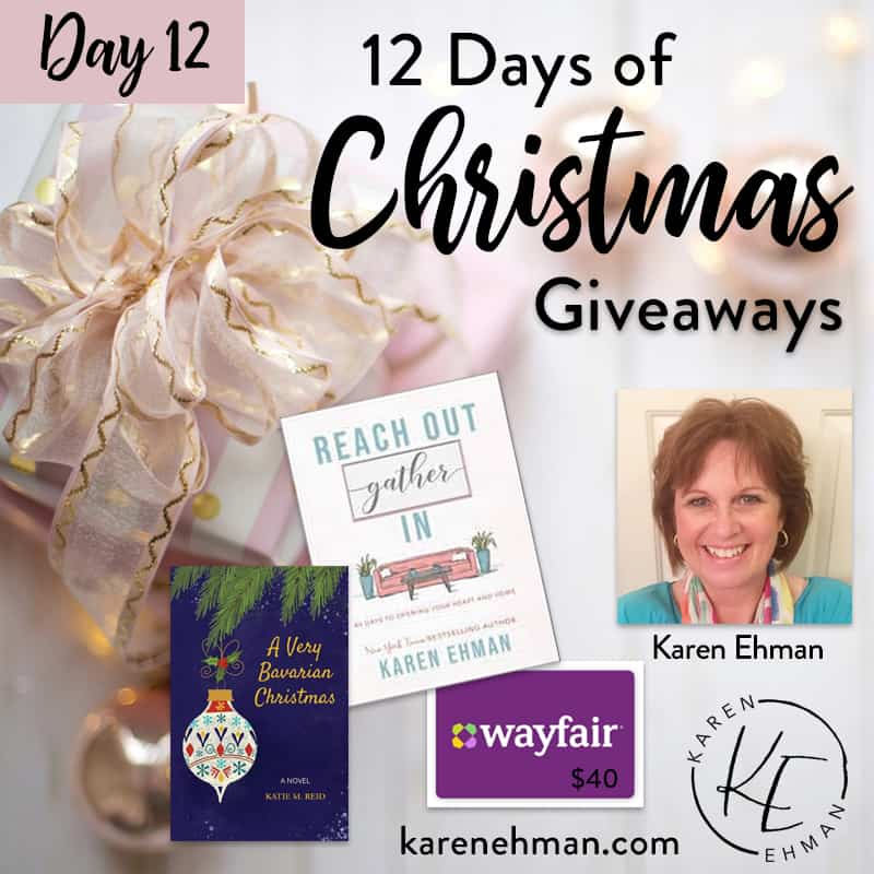 Day 12 of 12 Days of Christmas! (with Karen Ehman)