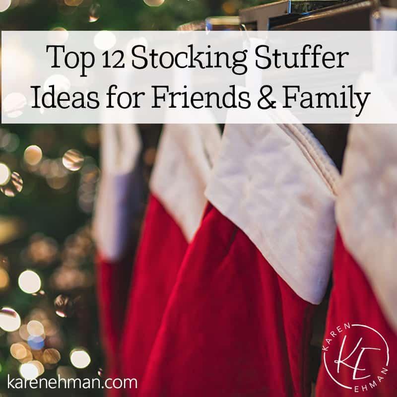 Top 12 Stocking Stuffer Ideas
