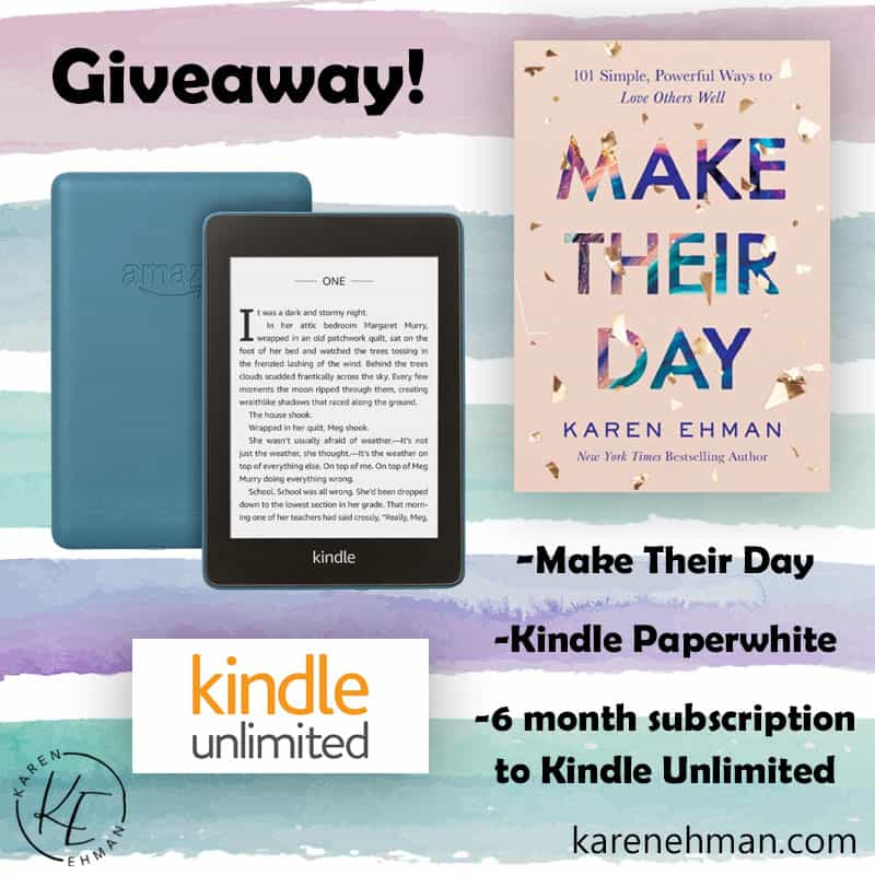 Make Their Day Giveaway!