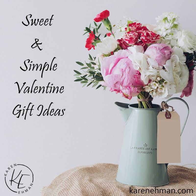 Sweet & Simple Valentine Gift Ideas
