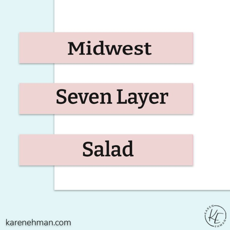 Midwest Seven Layer Salad
